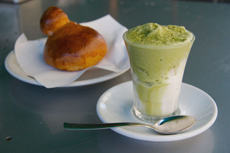 Granita and Brioche for Breakfast