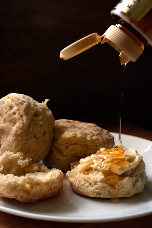 The BEST buttermilk biscuits from scratch recipe! | pinchmysalt.com