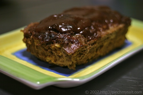 Better Late Than Never:  Horseradish Meatloaf Recipe