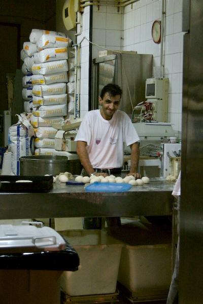 Baker in Catania