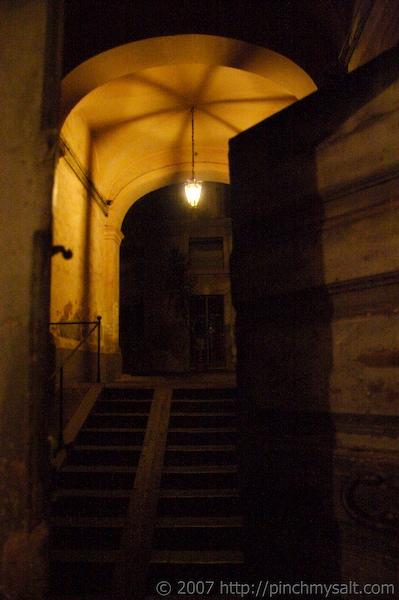 Courtyard in Catania