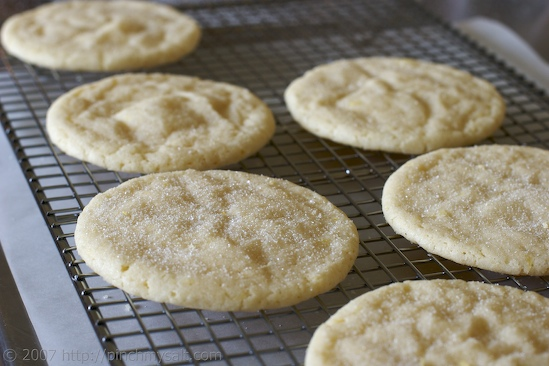 Patricia's Lime Sugar Cookies
