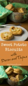 Sweet Potato Biscuits with Bacon and Thyme | pinchmysalt.com