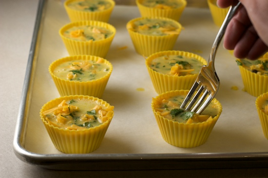 Portable Omelette: Southwest Style Egg Muffins Recipe - Pinch My ...