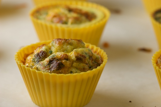 A Portable Omelette: Southwest Style Egg Muffins Recipe