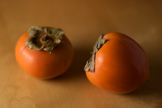 Two types of persimmons | pinchmysalt.com
