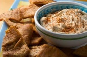 Smoked Tuna Dip with Pita Chips | pinchmysalt.com