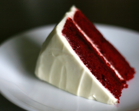 Red Velvet Cake Slice | pinchmysalt.com