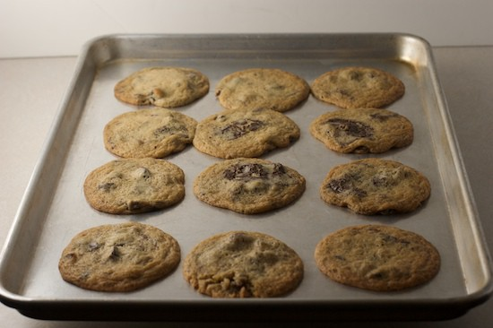 Cookies Baked on Ungreased Baking Sheet