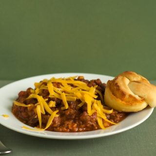 Beef and Three Bean Chili Recipe