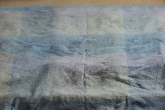 Cover with Damp Cloth