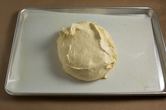 Preparing Brioche Dough for Bulk Fermentation