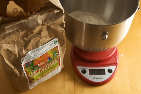 Measuring Shepherd's Grain Flour