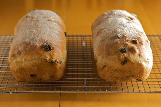 Baked Cinnamon Raisin Walnut Bread