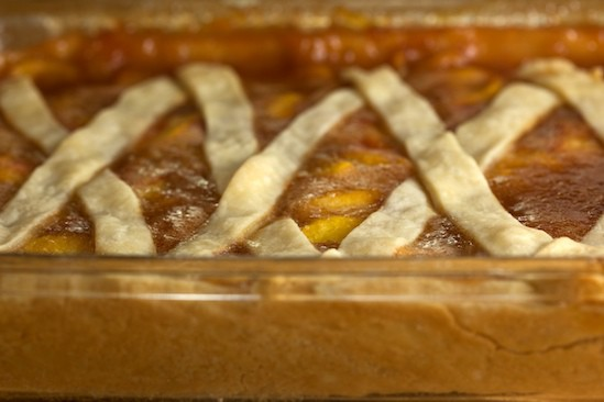 Peach Cobbler Side View