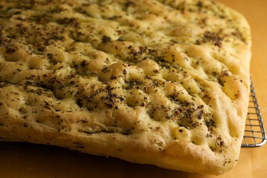 Baked Focaccia