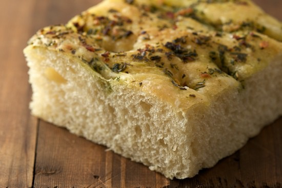 Piece of Focaccia