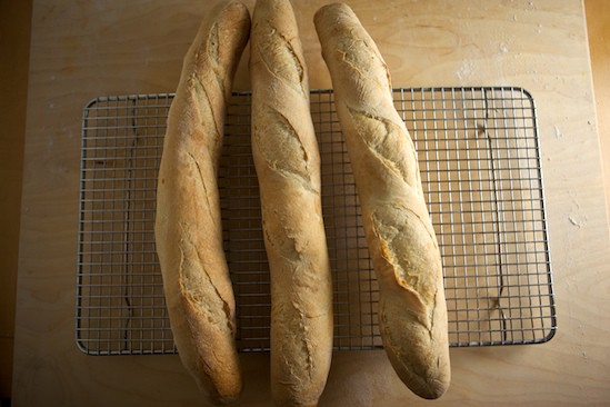 Baguettes Baked