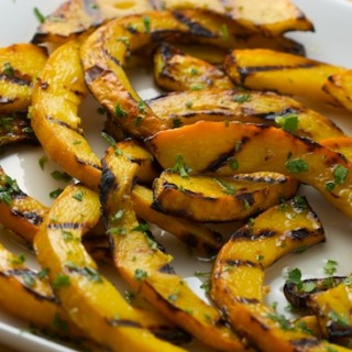 Sweet and Sour Grilled Pumpkin Recipe