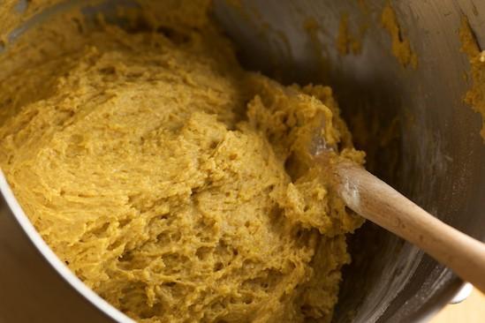 Pumpkin Spice Doughnut Batter | pinchmysalt.com