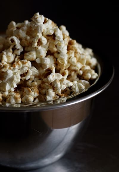 Kettle Corn Made with Ghee