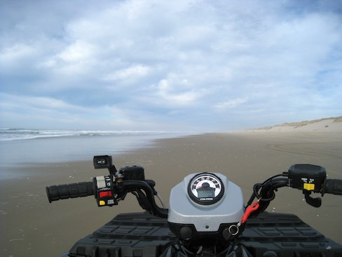 Quad on the Beach