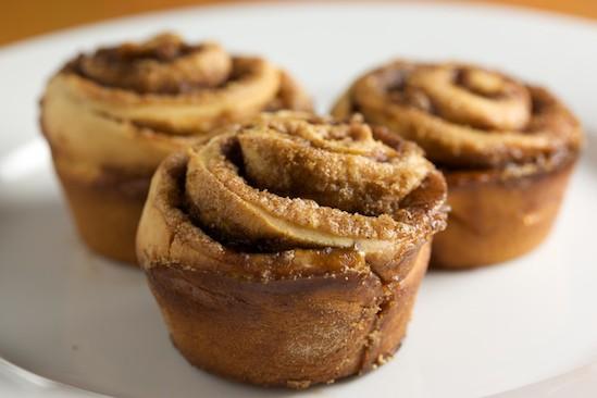 Naked Cinnamon Buns