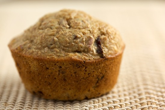 Cherry Pecan Bran Muffins - Pinch My Salt