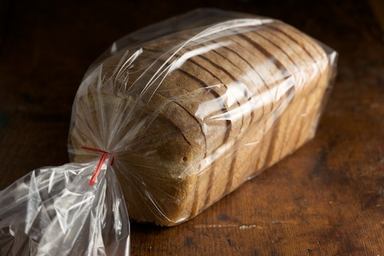 Sliced Light Wheat Bread in Bag