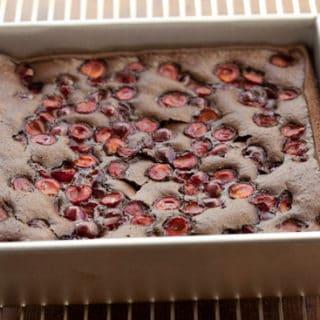Recipe Idea:  Chocolate Cake with Tart Cherries