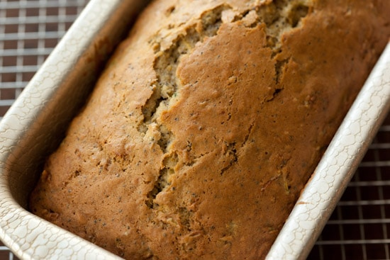 Zucchini Bread in Pan