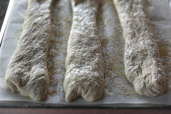 Stretched into Baguettes