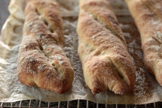 Baguettes Out of Oven