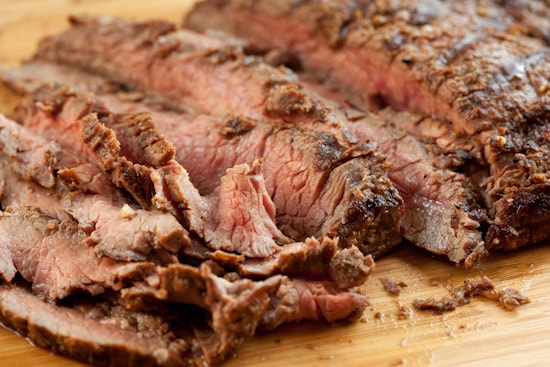 Spice-Rubbed Flank Steak from Blue Kitchen