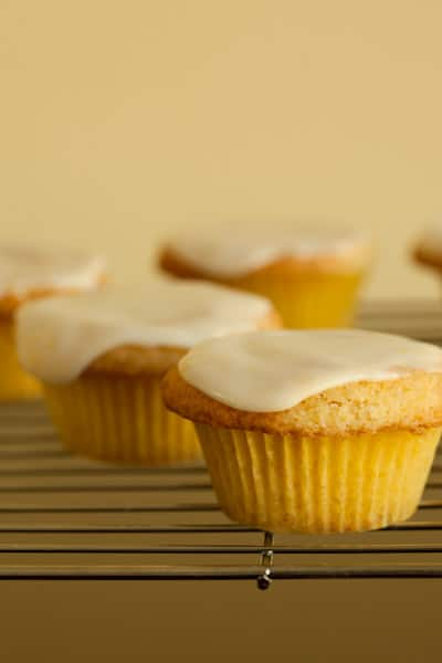 Lemon Cupcakes from The Flat Belly Diet Cookbook