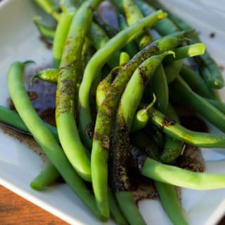 Summer Fest: Green Beans with Balsamic Browned Butter