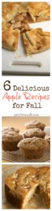 Six Delicious Apple Recipes for Fall | pinchmysalt.com