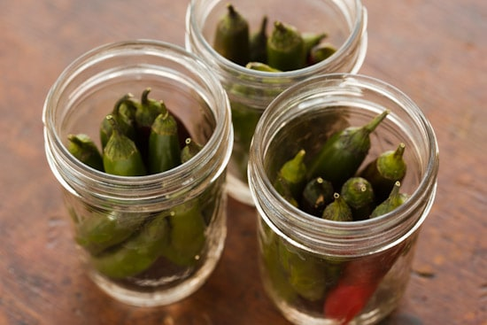 Serrano Chiles in Jars