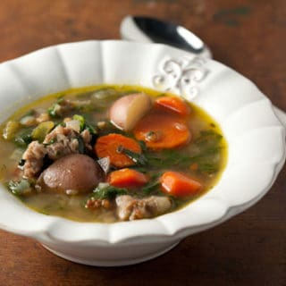 Fall Fest: Hearty Spinach and Sausage Soup Recipe