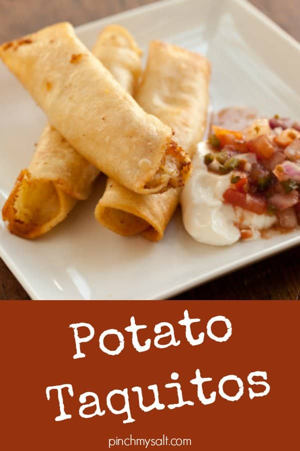 Potato Taquitos Recipe — Dishmaps