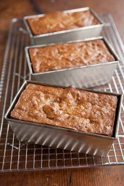 Persimmon Bread in Pans