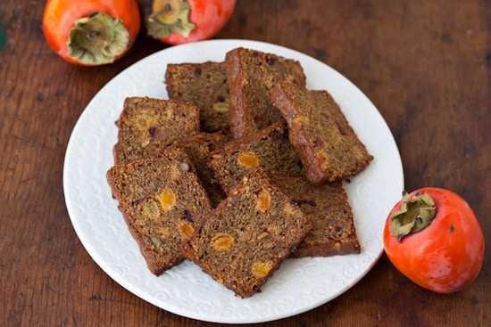 Sliced Persimmon Bread