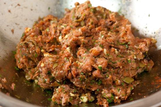 Turkey Burger Mixture