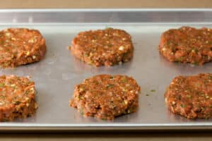 Turkey Burgers Ready for Grill