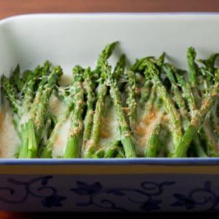 Spring Fling: Asparagus Gratin