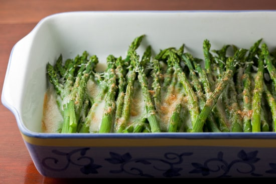 Asparagus Gratin
