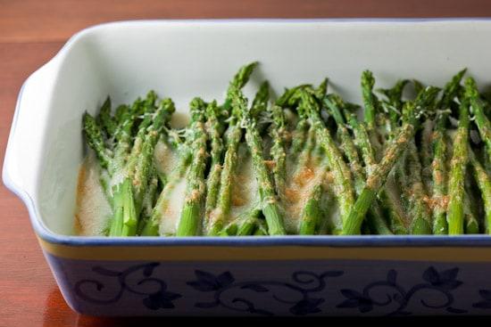 Spring Fling: Asparagus Gratin - Pinch My Salt