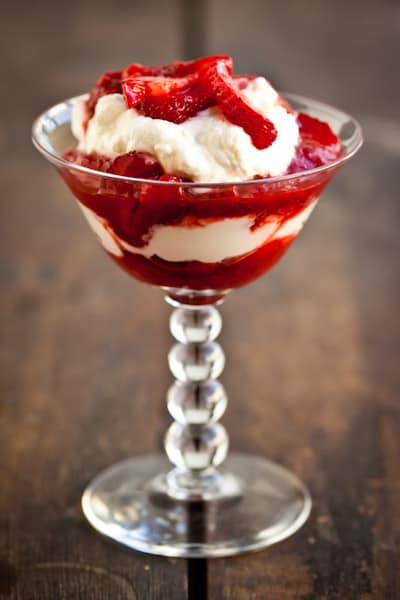 Strawberry Rhubarb Fool