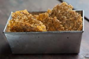 Herbed Cheddar Parmesan Crisps