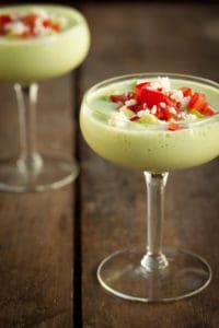 Creamy Cucumber and Avocado Soup
